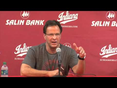 Indiana Basketball Head Coach Tom Crean 11/18/15