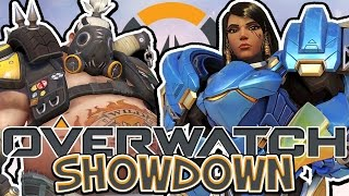 SquiddyPlays - OVERWATCH!! - 1v1 SHOWDOWN Vs TheJMC!