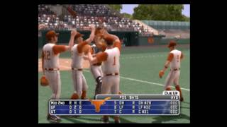 MVP NCAA Baseball 06 Florida vs Texas Part 1