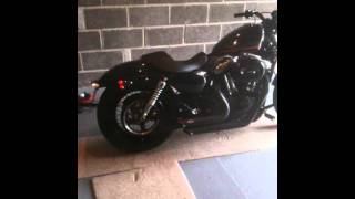 Harley 48 Vance & Hines Short Shots (quiet baffles)