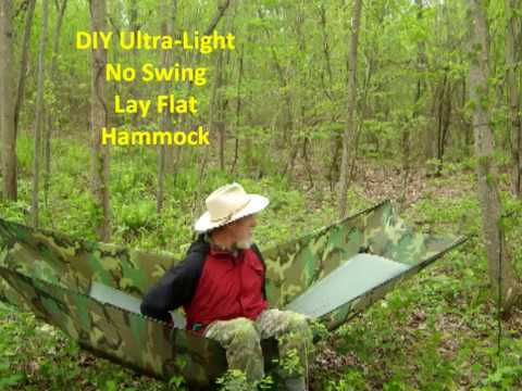 diy ultra light no sway lay flat hammock diy ultra light no sway lay flat hammock   youtube  rh   youtube