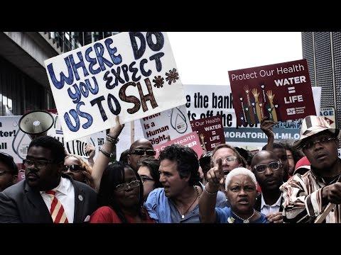 Detroit Water Shutoff Bankruptcy Crisis Deepens