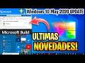 ULTIMAS NOVEDADES Windows 10 MAY 2020 / REVELACIONES Microsoft BUILD 2020
