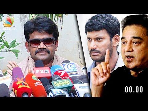 """""""Vishal, support Kamal personally don' say Nadigar Sangam will stand behind"""" : J K Ritheesh"""