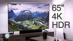 """65"""", 4K / UHD & HDR10 - HiSense SmartTV H65NEC5655"""