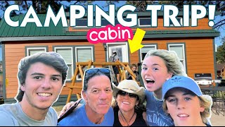 SOUTH DAKOTA CAMPING VĄCATION and KOA CABIN TOUR **we traveled for ten hours to get here**