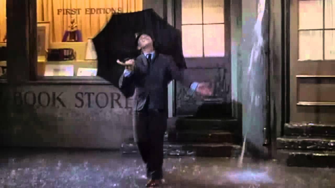 Gene Kelly  Singing In The Rain Cantando en la lluvia  YouTube