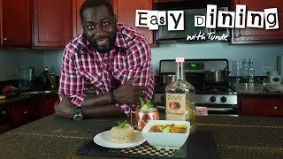 Easy Dining with Tunde - Ep02 (Beef & Shrimp Okro Soup, served with Eba)