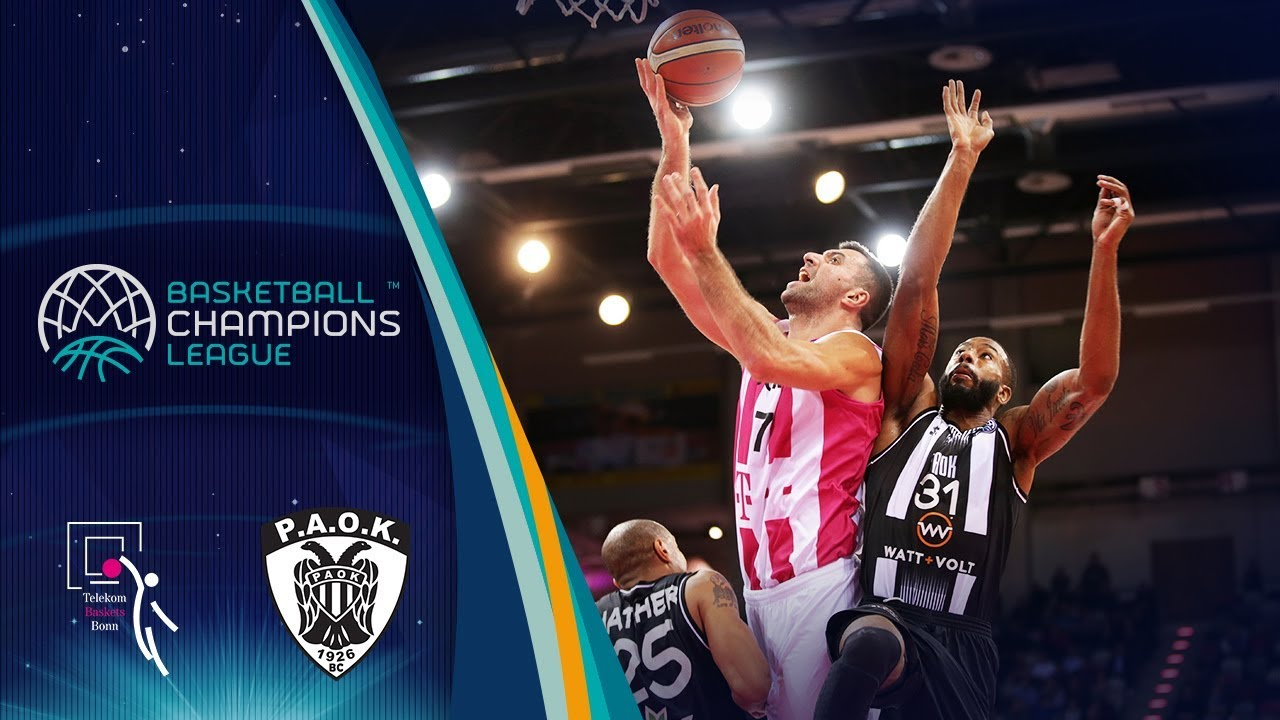 Aussensauna Klein Telekom Baskets Bonn V Paok Highlights Basketball Champions League 2018 19