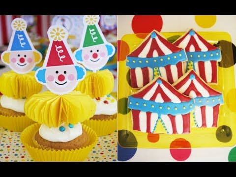 Circus Carnival Birthday Party Ideas | BirdsPartyTricks