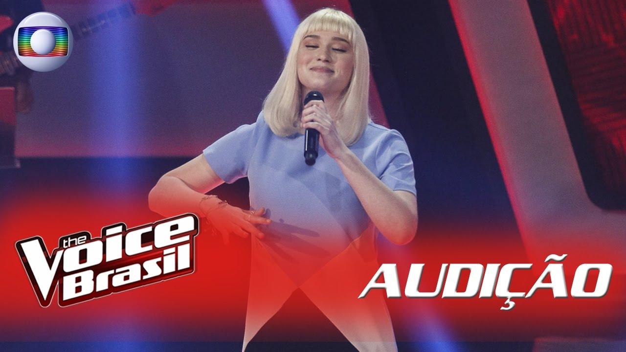 Gabriela Ferreira canta \'Chandelier\' nas Audições – \'The Voice ...