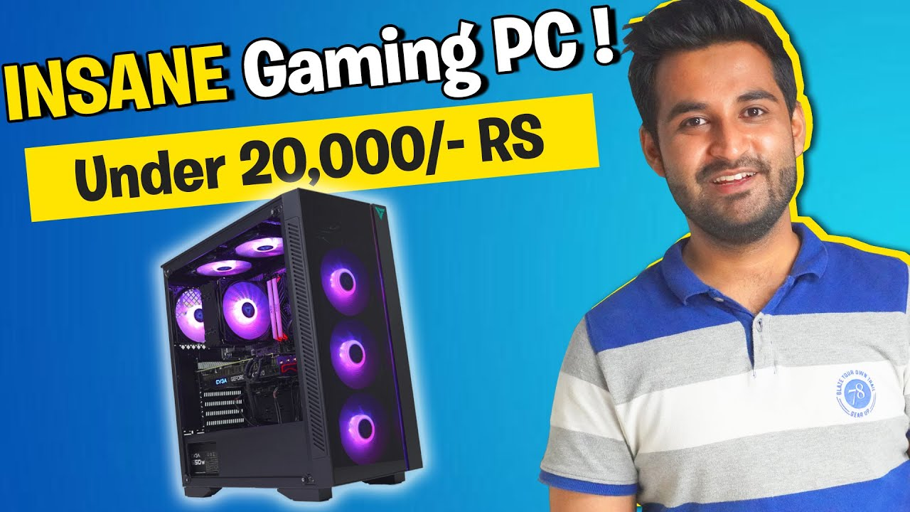 Download EPIC 20,000/- Rs Gaming PC Build [Benchmarks]