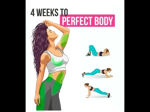 how to get a slim body in 4 weeks