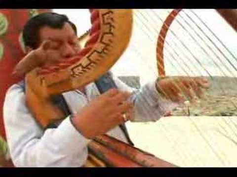 Arpa Andina Peruana Instrumental Adiós Pueblo De Ayacucho Youtube