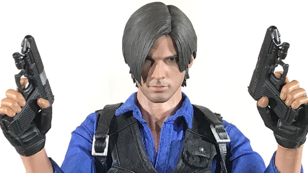 Hot Toys Resident Evil 6 Custom 1 6 Leon S Kennedy China Version Showcase