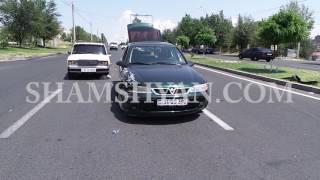 Շղթայական ավտովթար Երևանում  Ձոր 1 թաղամասի դիմաց բախվել են Opel ը, «07» ը և Toyota ն  կա վիրավոր
