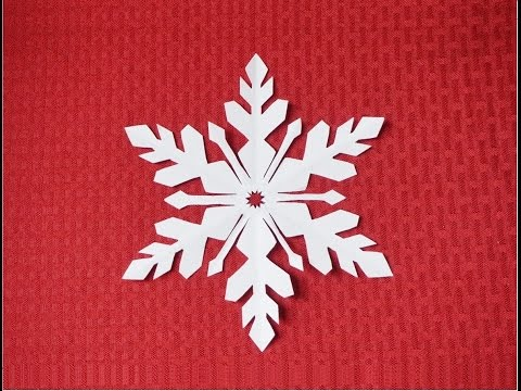 Paper Snowflake 2- Detailed tutorial- intermediate level - Can YOU do it?