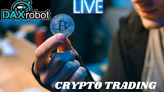 Daxrobot Cryptocurrency Trading Experience! Dax Robot Live Trading