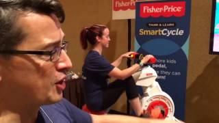 CES Demo: Fisher-Price Smart Cycle