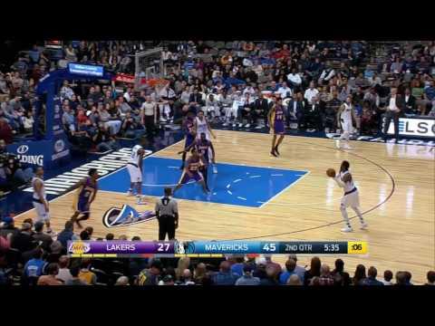 Los Angeles Lakers vs Dallas Mavericks | January 22, 2017 | NBA 2016-17 Season