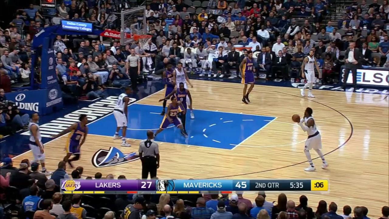 Los Angeles Lakers Vs Dallas Mavericks January 22 2017 Nba 2016 17 Season