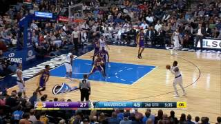 Los Angeles Lakers vs Dallas Mavericks | January 22, 2017 | NBA 2016-17 Season