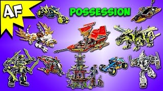 Every Lego Ninjago POSSESSION Set Complete Collection