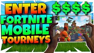 How To Join Fortnite Mobile Tournaments WEEKLY And Compete FOR MONEY | Fortnite Mobile