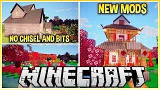 Trying Out New Building Mods on Minecraft!