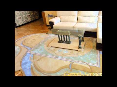 Ковёр для гостиной - авторские ковры на заказ