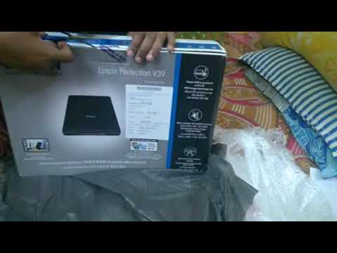 epson-perfection-v39-flatbed-scanner-unboxing