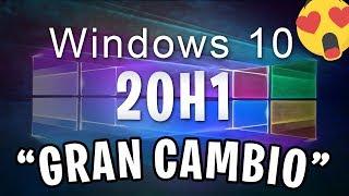 ⚠️Nuevo Windows 10 20H1 Build 18965 / Gran Cambio! 😍 /