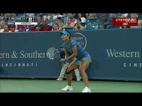 Li Na VS S.Williams Highlight Cincy 2013 SF