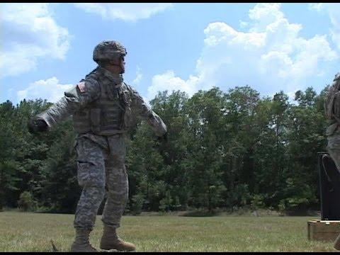 U.S. Army Hand Grenade Familiarization Training