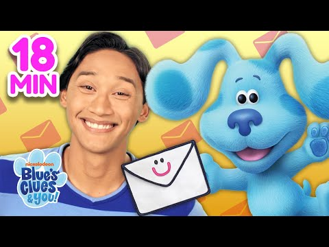 Mail Time Marathon! 📬 | Josh & Blue's VLOG Ep. 31 | Blue's Clues & You!
