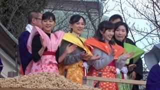 2017年2月3日 寝屋川・成田山で」撮影.