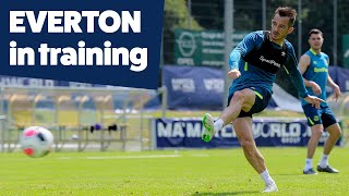 Shots + Saves = Finishing Practice! | Everton In Training In Switzerland