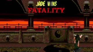 Mortal Kombat 2 Unlimited Jade GamePlay