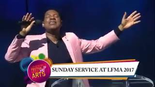 Jerry K - The Air I Breathe With Pastor Chris At Lfma (live Performance )