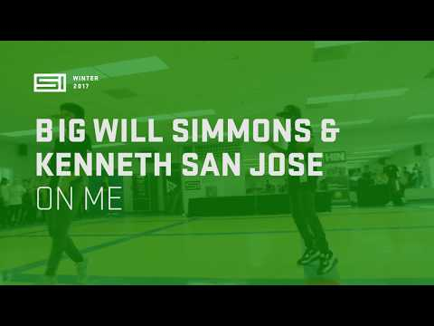 Big Will Simmons and Kenneth || SI Winter Dance Camp