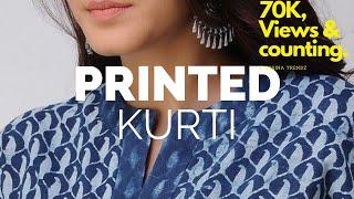 Latest Printed kurti Designs | Cotton kurti design 2019