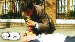 Man Has a Heart Attack | Mr. Bean Official