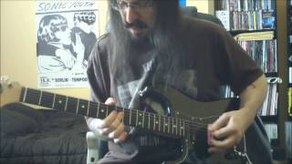 Nirvana - Scoff - guitar cover - Full HD