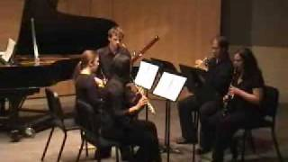Francis Poulenc - Sextet for Piano and Wind Quintet - Finale - Prestissimo (part 3 of 3)