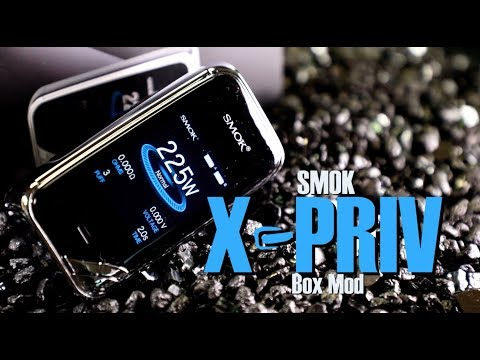 SMOK X-PRIV 225WTC Box Mod ~Vape Mod Review~
