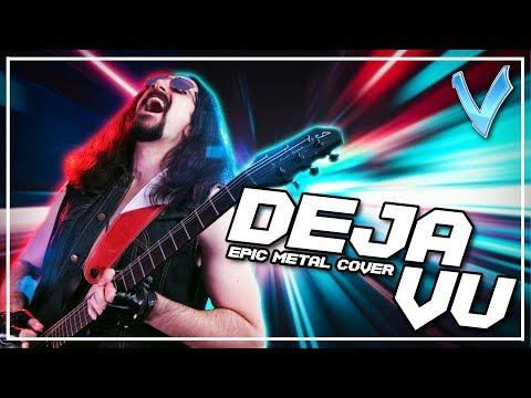 Deja Vu [EPIC METAL COVER] (Little V)