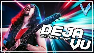 Deja Vu [EPIC METAL COVER] (Little V)