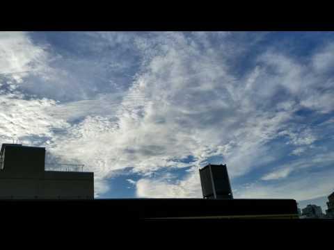 Fighter jet over montreal june 22 2017 CF18