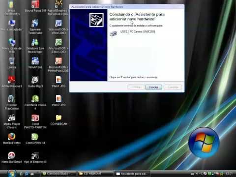driver para webcam knup gze 700