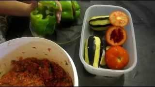 Летняя долма по-армянски. Долма  (толма) из овощей.  Видео,  рецепт.